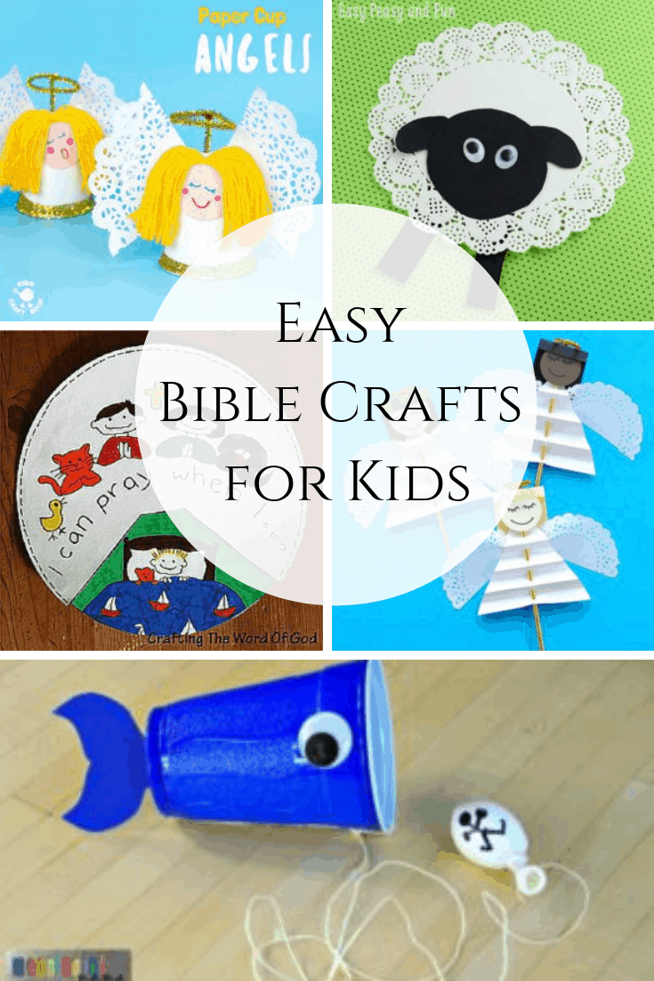 Easy Bible Crafts for Kids - Out Upon the Waters