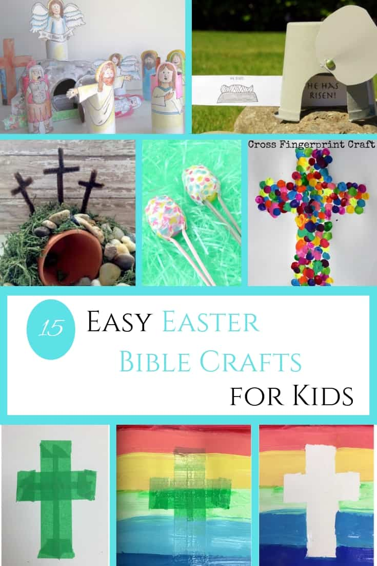 Easy Easter Bible Crafts for Kids - Out Upon the Waters